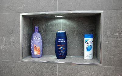 Installatie badkamer