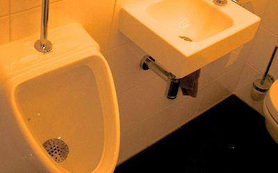 Installatie toilet